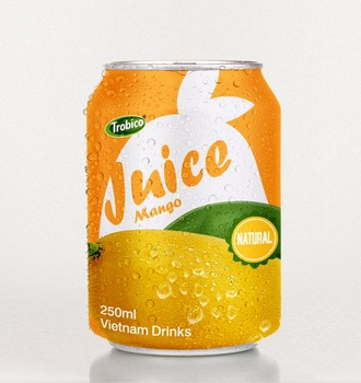 Special Mango juice drink 250ml short can from VietNam
