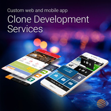 Custom web and mobile app clone Development Services