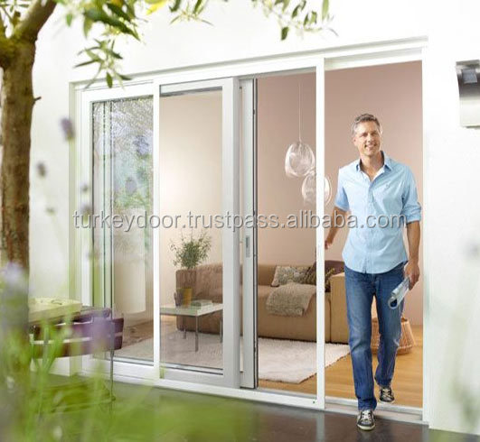 balcony pvc sliding door