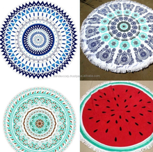 City Beach Round Towel