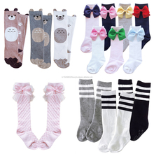 Made in korea Love Aile girls knee socks cheap school knee socks