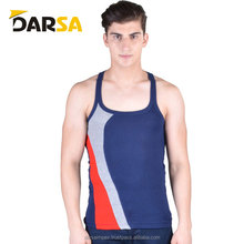 Awesome gym cotton mens stringer/singlet/tank top