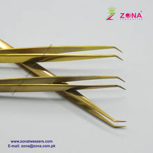 SS/45 Long Angled Isolating lash Extension Tweezers