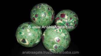 Wholesale Agate sphere / wholesale ball / Ruby Fuchsite ball