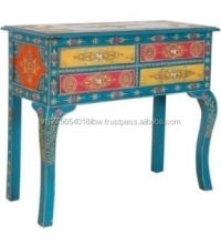 Wooden Hand painted Console Table