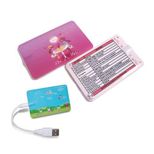 Credit Card MP3 Player, Name Card MP3,support TF card 1GB-8GB custom MP3 Player box+usb cable+headphone