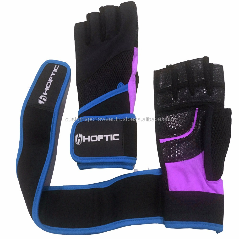weight lifting private label leather gloves