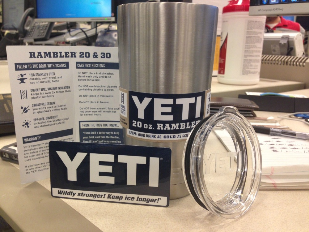 All New Yetys Rambler Tumbler 20oz Cup - Colster