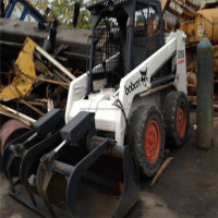 2010Y used bobcat wheel loader,good condition bobcat used s150 skid steer in stock