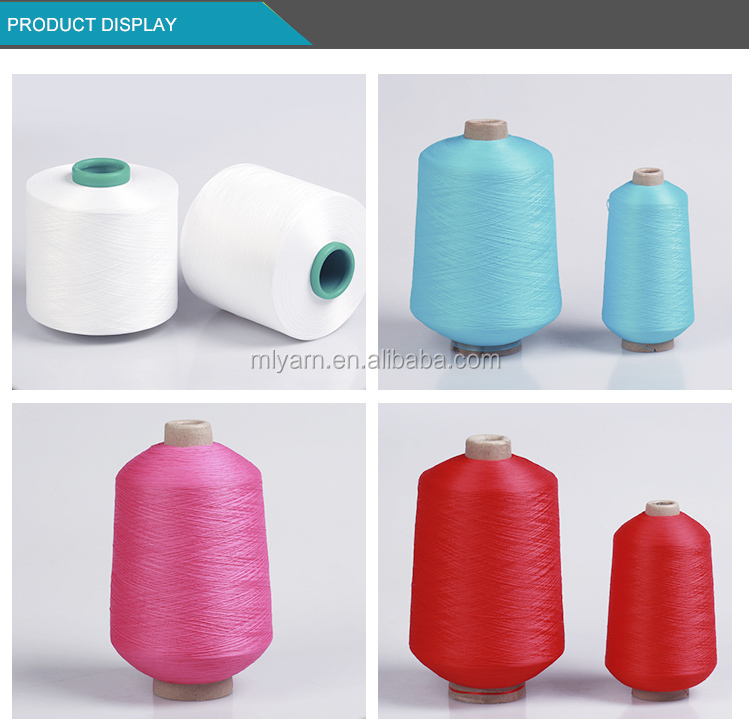 SCY 20D SPANDEX COVERED 70D NYLON YARN FOR  KNITTING WITH GOOD QUALITY