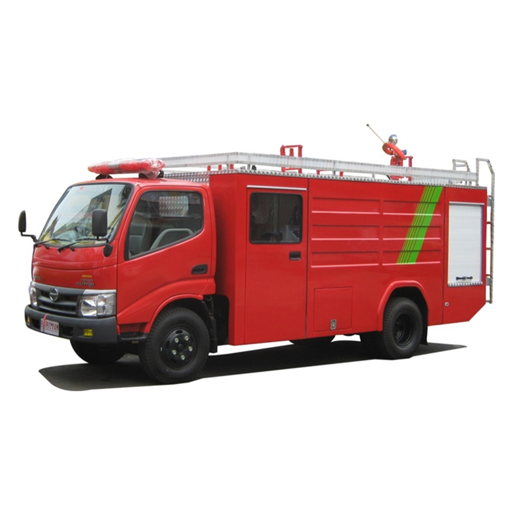 Best Seller City Fire Truck Rescue Equipment Crew Cabin