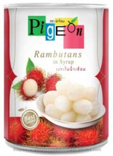Canned Rambutan Export in syrup 20 oz.