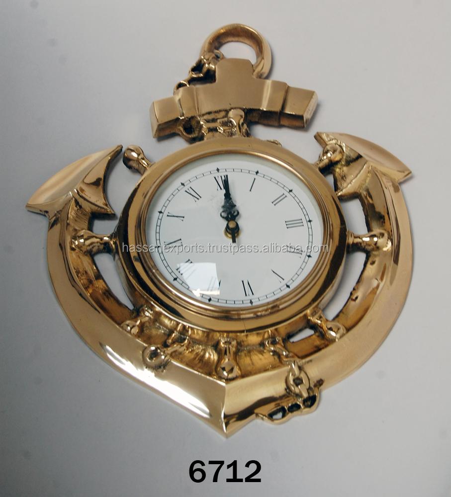 India brass anchor clock india brass anchor clock manufacturers india brass anchor clock india brass anchor clock manufacturers and suppliers on alibaba amipublicfo Images
