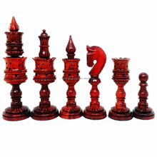 Lotus Series Bud Rosewood wood chess pieces games setSC214