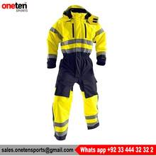 Custom Safety Flame Retardant Hi Vis Work Coverall