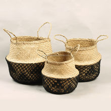 seagrass belly basket, belly basket seagrass
