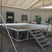high quality folding indoor/outdoor removable mobile stage