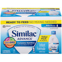 SUPER ORIGINAL Similac A.d.v.a.n.c.e. R-e-a-d-y- -To-Feed Infant Formula - 8 pack, 32 oz bottle