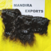 Closure curly and human hair brazilian available From Mandira Exports