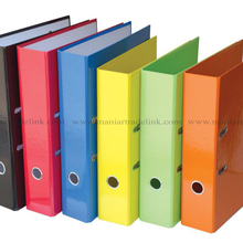 new style A4 office cardboard box file with spring