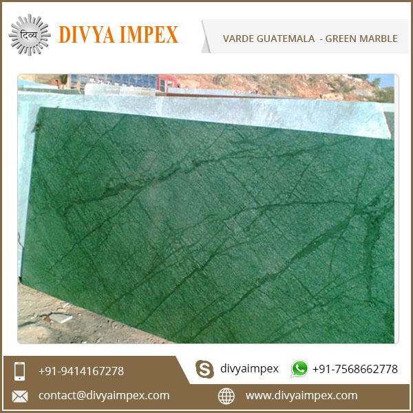 Top Quality India Verde Guatemala Green Marble Slab