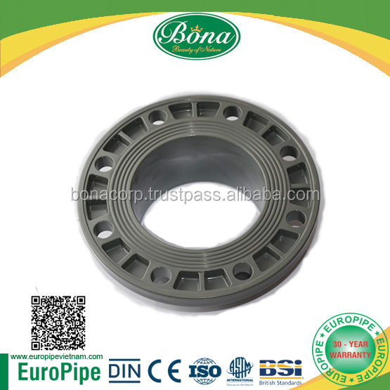 PVC PIPE FLANGE plastic fittings Middle East, Europe, India, China