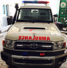 High Quality 2017 model Ambulance 4X4 Land Cruiser VDJ 78