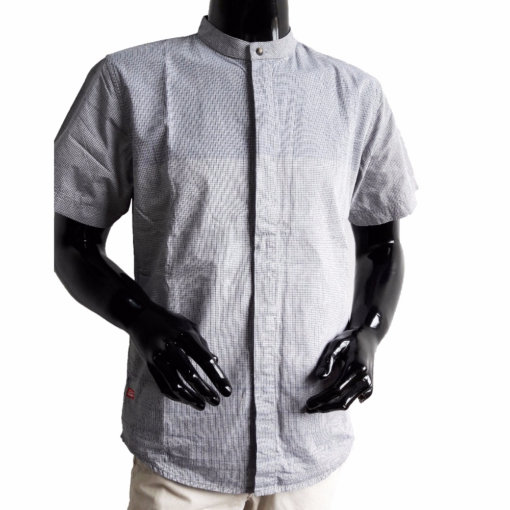 Oxygen Man Muslim Clothing Koko Shirt Grey