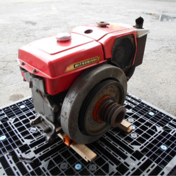 Stable quality used mitsubishi tractor engine diesel with warm praise