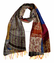 Indian Kantha Decorative Women Scarves Shawl Wrap Stoles