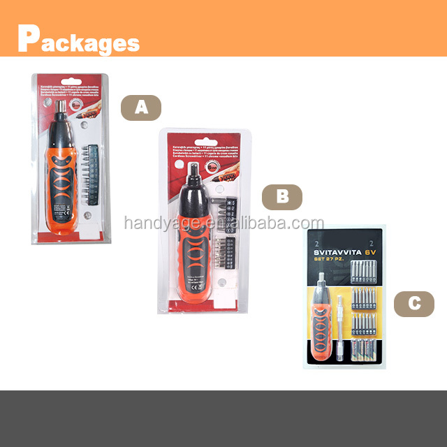 [Handy-Age]-Handy Popular Cordless Screwdriver (ET0200-010)