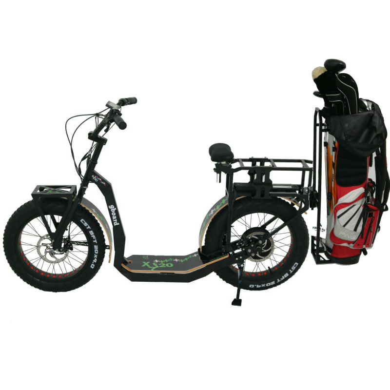 GreenBoard scooters - 2 Wheel Electric Scooter for golf: UNIQUE DESIGN, NEW TECHNOLOGY MADE IN ITALY