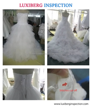 Third Party Quality Control Services for Garment / Wedding Dress Quality Inspection Services in China/India / Indonesia and Viet