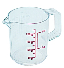 Plastic Measuring Cup Provides Quick Measurements, Saving Your Time