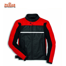 Motorbike Racing Leather Jacket( RED AND BLACK) For Men's and woman All Size Available