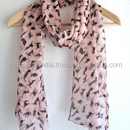 Best Design Wholesale Islamic dubai style women long cotton polyester scarf