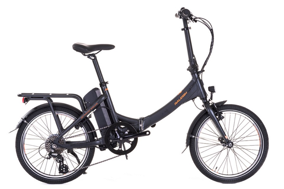 Super Deal for Raleigh Stow-E-Way Electric Folding Bike