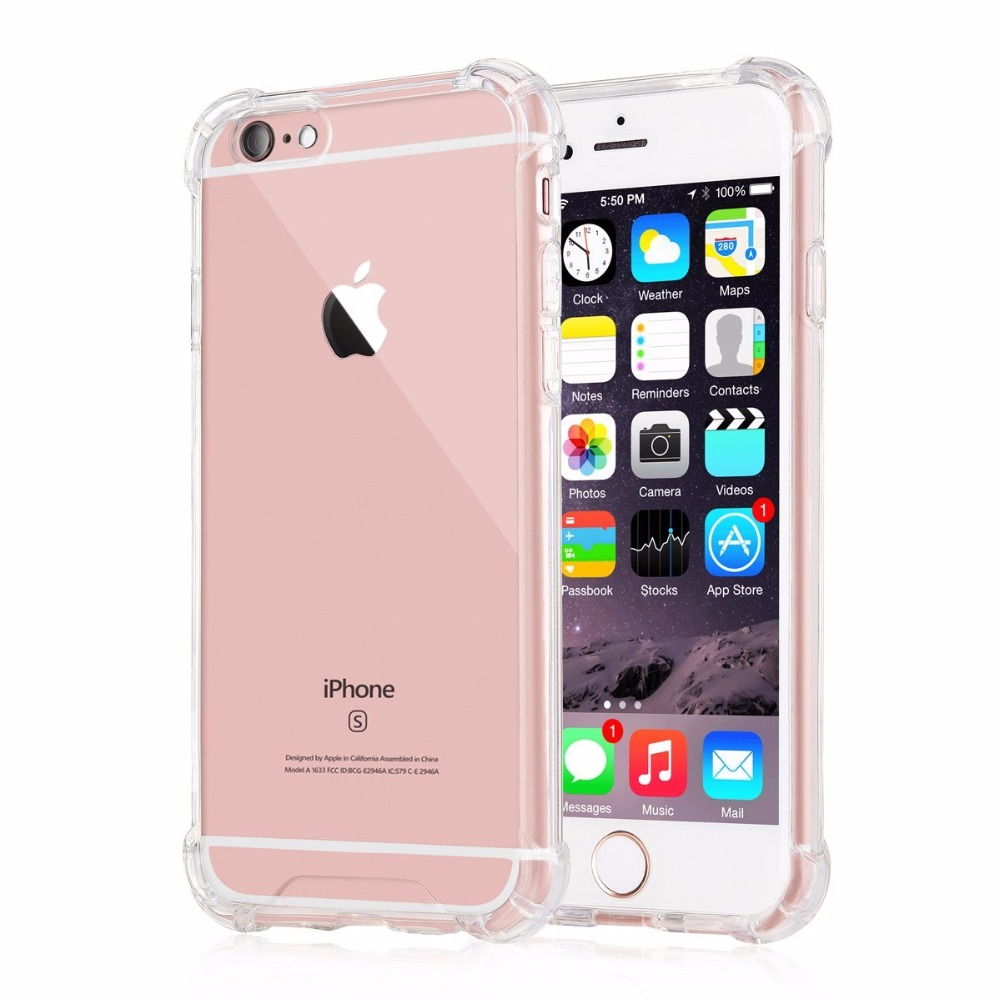 Clear Phone Cases, Shock Absorption and Soft TPU