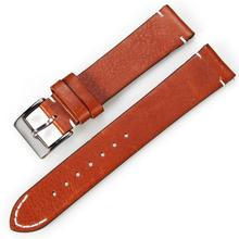 Tancy High quality crazy horse leather watch strap for Apple Watch 38mm 42mm , for apple watch leather bands