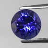 Top Quality Natural Tanzanite 5MM Round