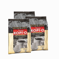 Malaysia Made Premium Quality 1 in 1 Black Coffee Sachet / Kopi O (Plastic Packing)