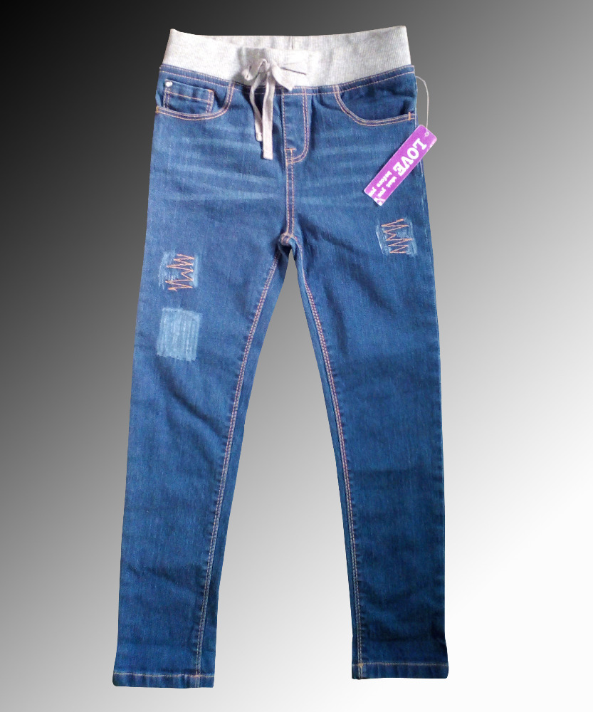 Most popular new collection Best Quality In stock Denim Jeans Pant for Girls