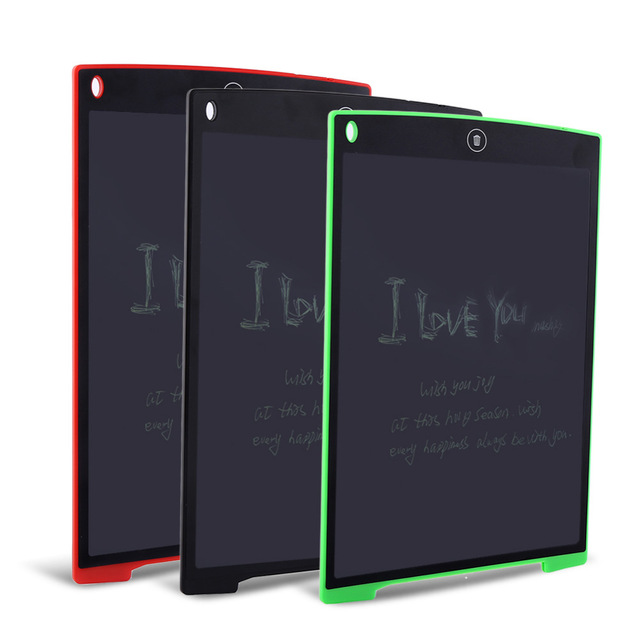 wholesale 12 inch Portable LCD Electronic Writing Tablet Digital Drawing Handwriting Pads Board with Pen,with CE ROHS