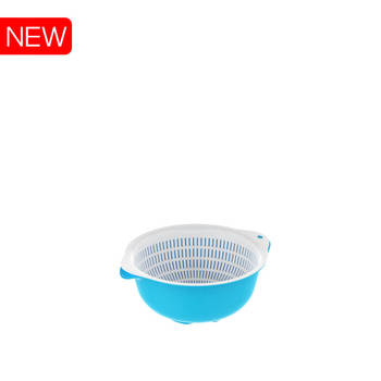 Plastic kitchen set# basket basin Duy Tan Plastic in Vietnam