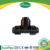 Black HDPE compression fitting elbow 90 degree DN 63mm