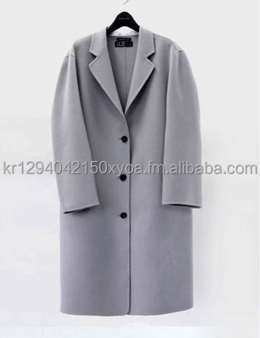 Women's Handmade Coats (containing wool over 90%)