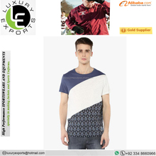 (Trade assurance)T shirt men's athletic apparel manufacturers, sport new pattern t-shirts, latest new model shirts