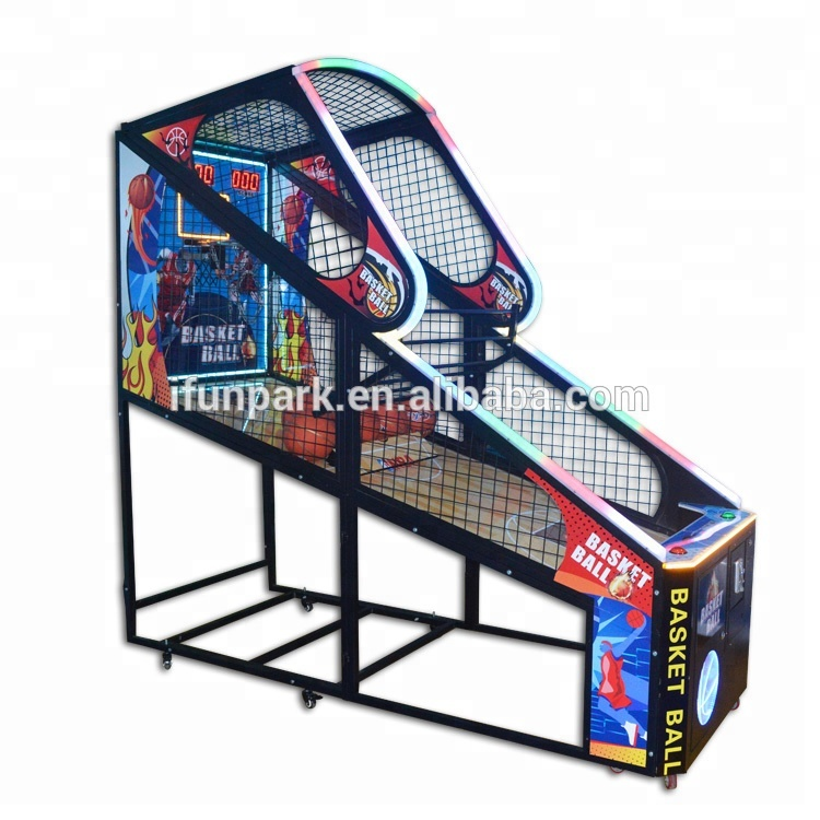 IFun amusement hoop shooting basketball game hop shooting basket ball game machine