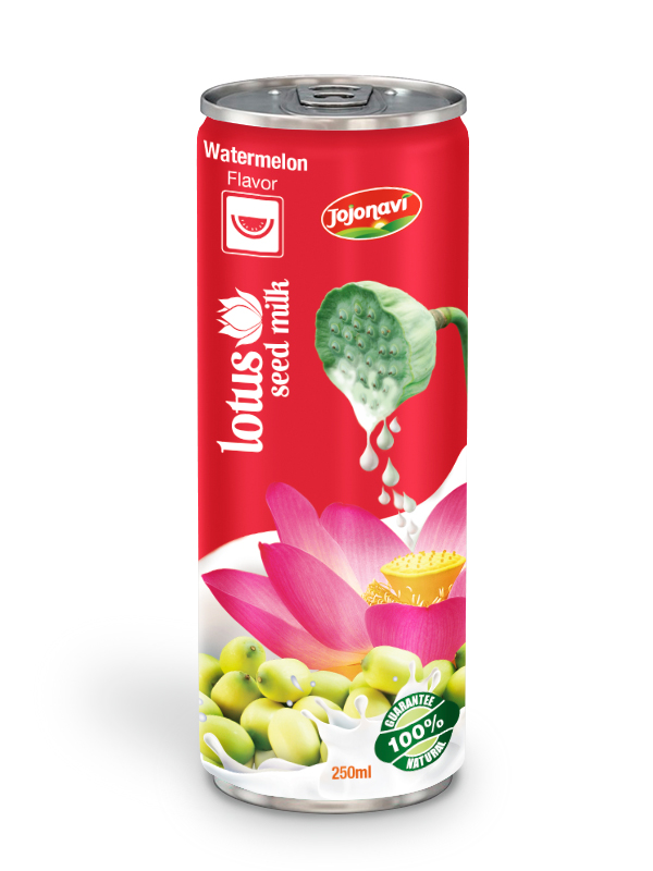 250ml Lotus Seed Milk With Watermelon Flavor