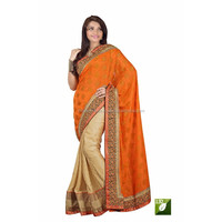 Indian Ethnic Bollywood Designer Multi Colored Half Saree